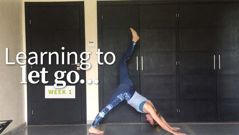 Learning to Let Go week 1