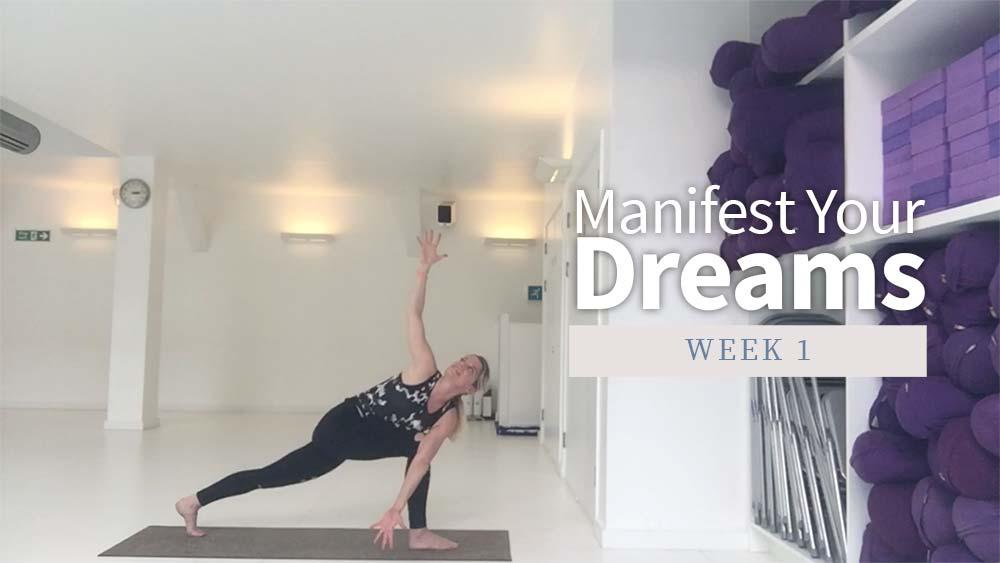 Manifest Your Dreams - Week 1