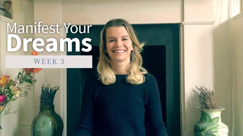 Manifest Your Dreams - Week 3