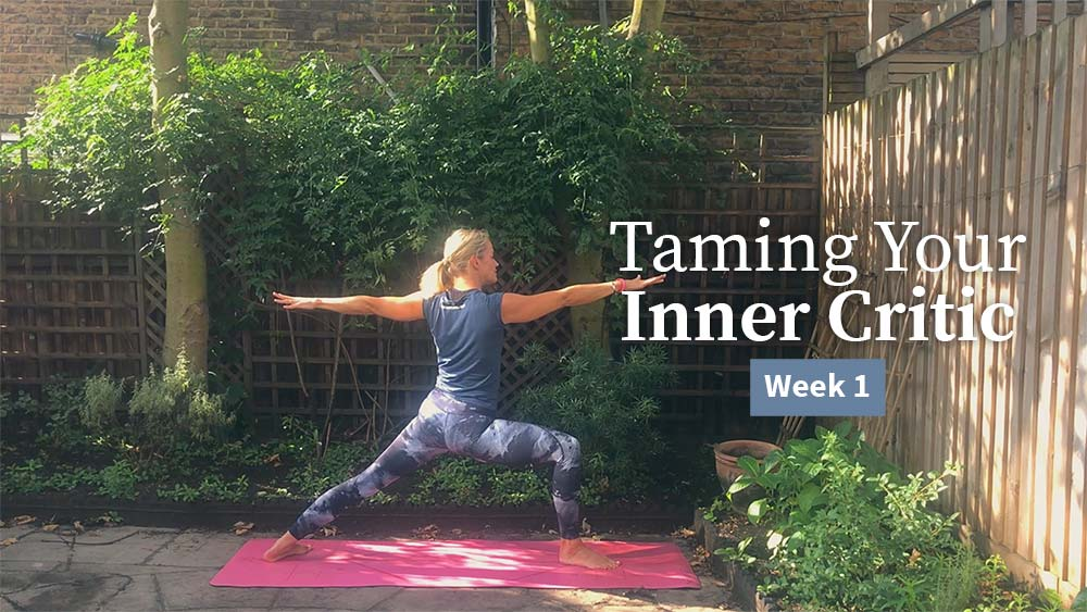 Taming Your Inner Critic Week 1