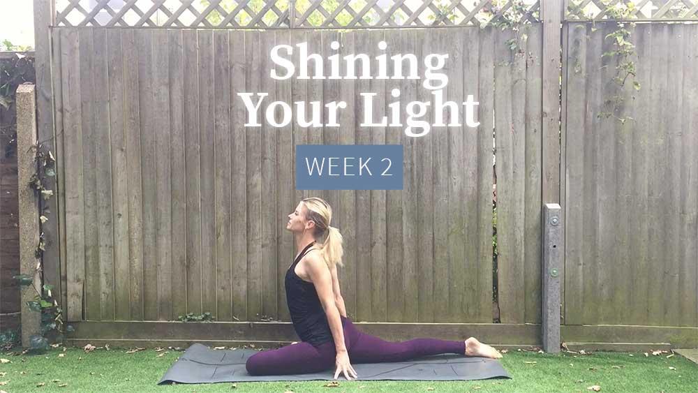 Shining Your Light - Week 2